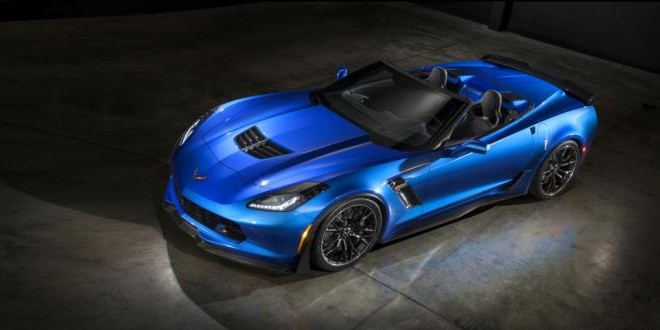 2015 Corvette Z06 Convertible revealed (Photo-Video)