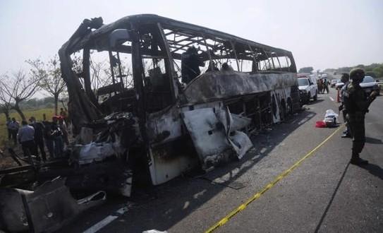 36 Dead In Fiery Mexico Bus Crash