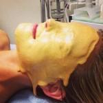 Bar Refaeli : Supermodel Gets a Liquid Gold Facial