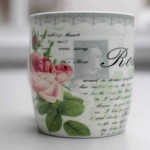Hitler Cup : This lovely floral mug is hiding a rather sinister figure