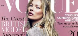 Kate Moss Graces 35th Vogue Cover (Photo)