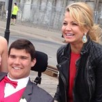 Michelle Beadle goes to prom with Jack Jablonski