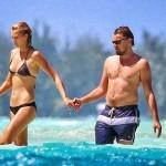 Leonardo DiCaprio kisses Toni Garrn