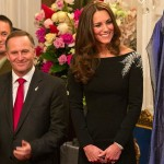 Duchess' black and white tribute to NZ colours