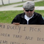 Judge orders man to carry 'I'm a bully' sign