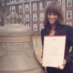 'America's Next Top Model' Creator Tyra Banks Graduates from Harvard!
