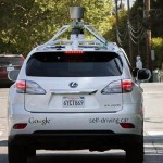 Google begins demonstrating self-drive cars to press