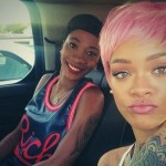 Rihanna : Singer Goes 'Nicki' with Pink Wig
