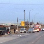 Southeast Calgary : Fatal crash closes Glenmore Trail