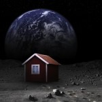 Swedish Artist wants to build the first house on the moon