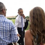 'The Bear Is Loose' : Barack Obama Goes out and About