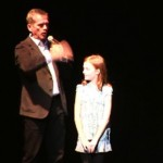 Chris Hadfield thrills young Thunder Bay audience