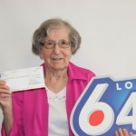 Maria Digel wins the lottery after playing the same numbers for 30 years