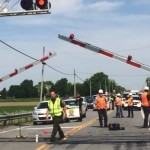 Quebec : Two dead in train, car collision