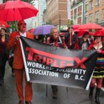 Vancouver sex trade workers parade