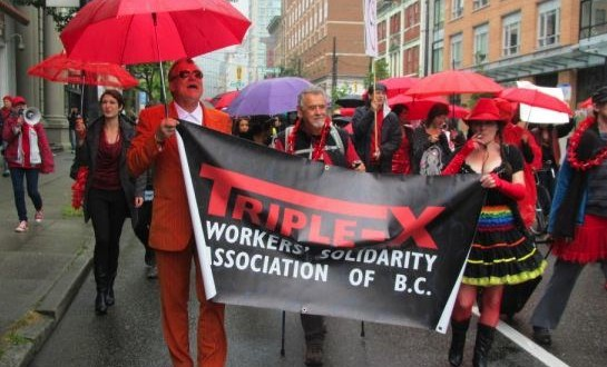Vancouver Sex Trade Workers Parade Video Canada