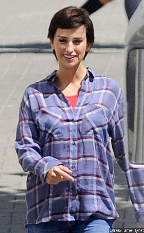 Penélope Cruz With Short Hair