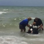 Baby dolphin rescued off Florida Beach