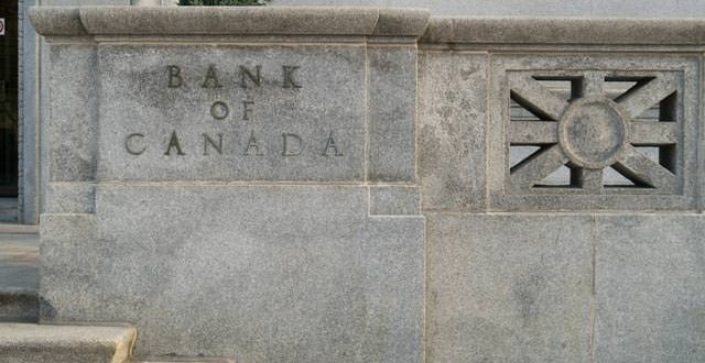 Bank of Canada overnight rate remains at 1percent
