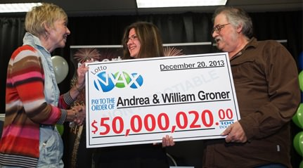 Edmonton Couple kept $50 million lotto win a secret for 7 months