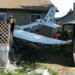Pilot crash-lands plane into Quebec yard