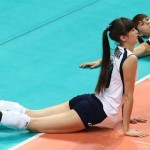Sabina Altynbekova : volleyball player slammed for being 'too attractive'