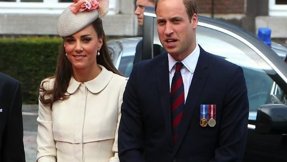 Duchess Kate and Will commemorate World War I