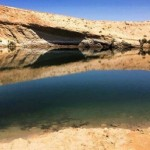 Gafsa Beach : 'Lake' appears in middle of Tunisian desert