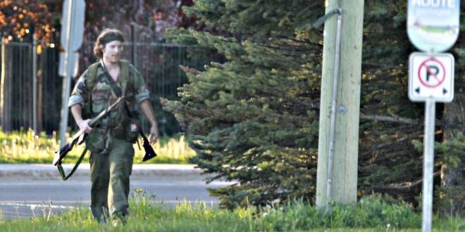Justin Bourque : Moncton shooter admits targeting police officers