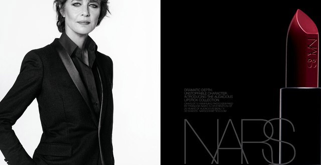 Rampling Stars in New Nars Lipstick Ad (Photo)