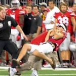 Anthony Schlegel : Ohio State strength coach destroys intruding fan