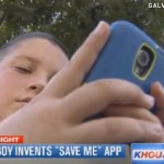 Boy Invents Panic Button 'Save Me' App, Report