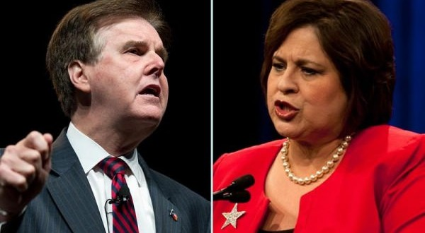 Leticia Van de Putte, Patrick go on attack in debate (Video)