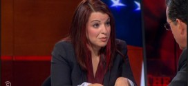 Anita Sarkeesian Schools Stephen Colbert on 'GamerGate' (Video)