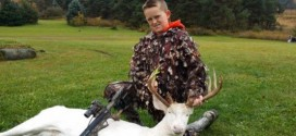Boy, 11, bags rare albino deer in Michigan
