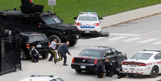Canada Shooting : gunman killed in attack on Ottawa capital complex (Update)