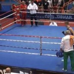 Croatian Boxer Knocks out Ref in youth championships