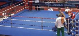 Croatian Boxer Knocks out Ref in youth championships (Video)