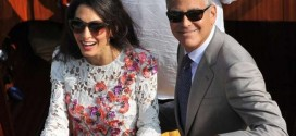 George Clooney And Amal Alamuddin's Wedding Celebrations Continue (Photos)