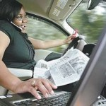 Home of distracted drivers, Allstate survey