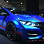 Honda Civic Type-R : Concept live on the Paris stand