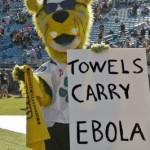 Jaguars Mascot Under Fire For Ebola Sign