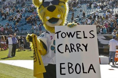 Jaguars Mascot Under Fire For Ebola Sign (Photo)