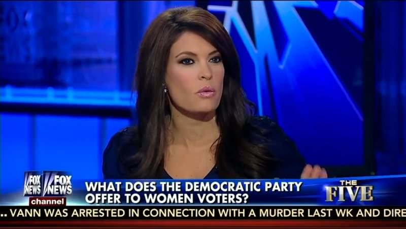 Fox News host Kimberly Guilfoyle says young hot women