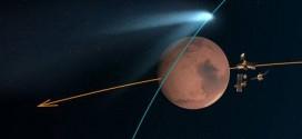 Mars Comet Shames Earth Dithering (Video)