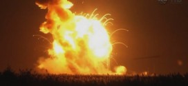 Rocket explodes with student experiments on board (Video)