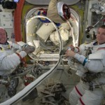 Station crew completes maintenance spacewalk
