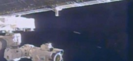 'UFO' bombs NASA video of ISS repair (Watch)