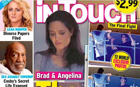 Angelina And Brad Fight : Want A Peek At Brad And Angie's Personal Fight Club?
