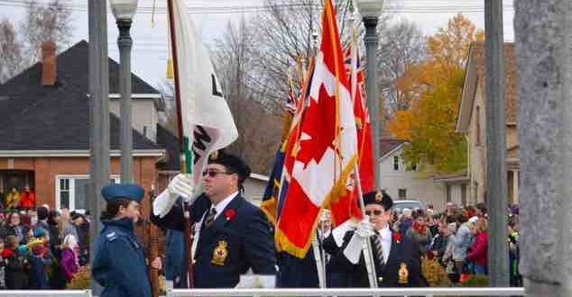 Midwestern Ontario Marks Remembrance Day 2014 (Video)
